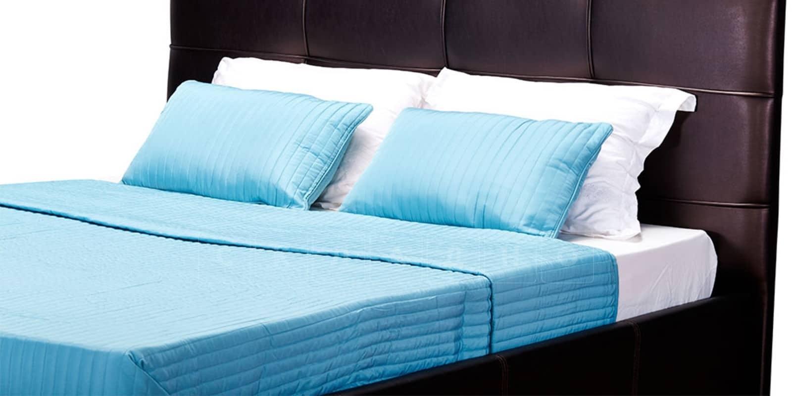 Мягкая кровать Лайф 160см шоколад без подъемного механизма фото 7 | интернет-магазин Складно