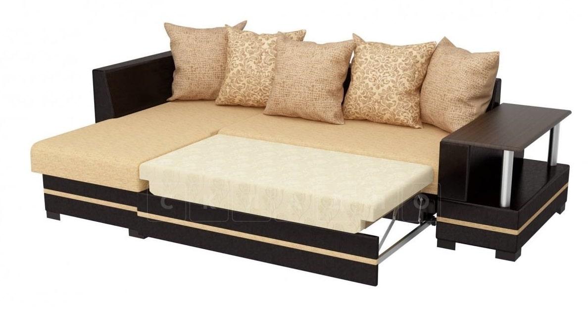 Угловой диван Лорд песочного цвета левый фото 2   интернет-магазин Складно