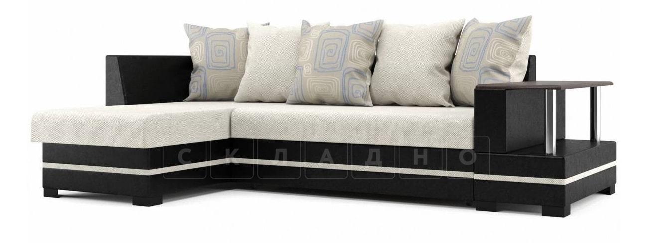 Угловой диван Лорд бежевый левый фото 1 | интернет-магазин Складно