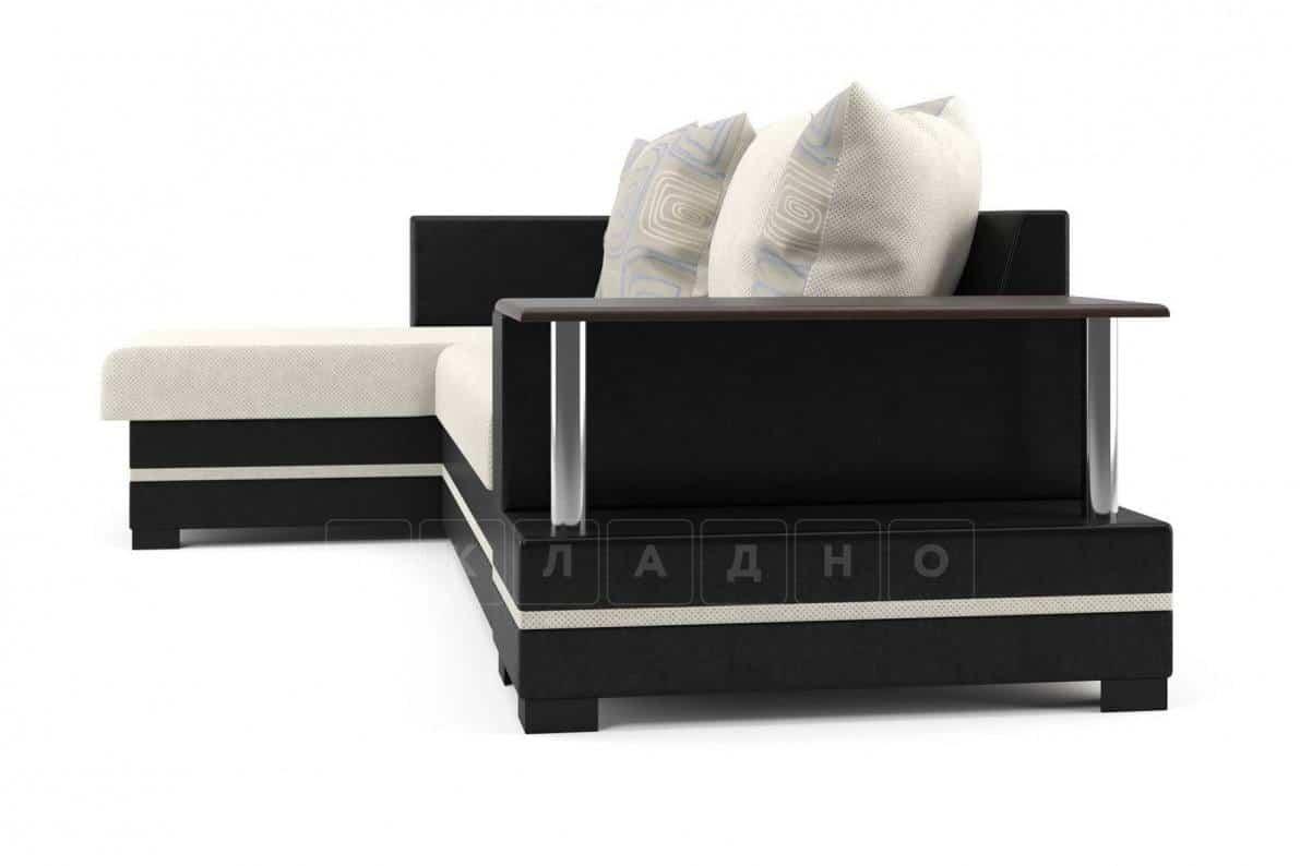 Угловой диван Лорд бежевый левый фото 3 | интернет-магазин Складно