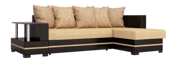 Угловой диван Лорд песочного цвета правый фото | интернет-магазин Складно