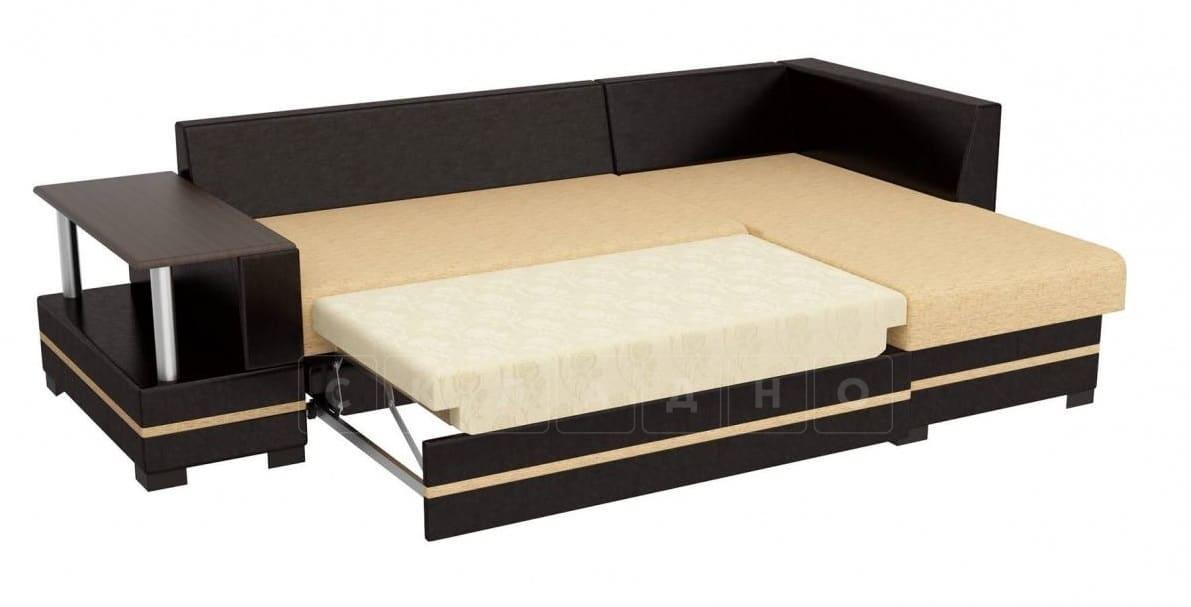 Угловой диван Лорд песочного цвета правый фото 3 | интернет-магазин Складно