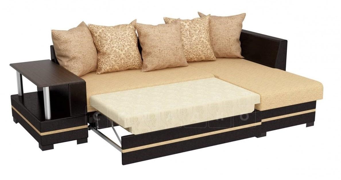 Угловой диван Лорд песочного цвета правый фото 2 | интернет-магазин Складно