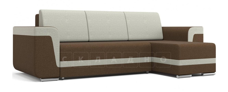 Угловой диван Марракеш коричневый фото 1 | интернет-магазин Складно