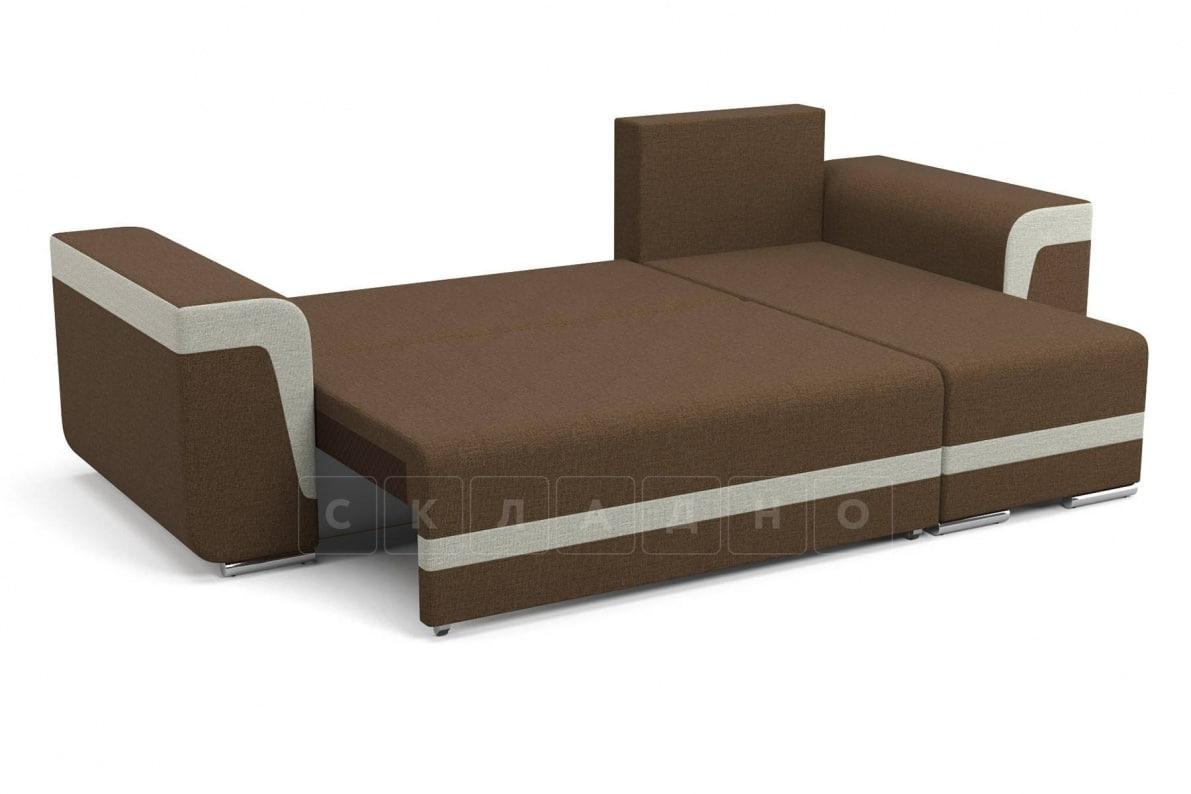 Угловой диван Марракеш коричневый фото 2 | интернет-магазин Складно