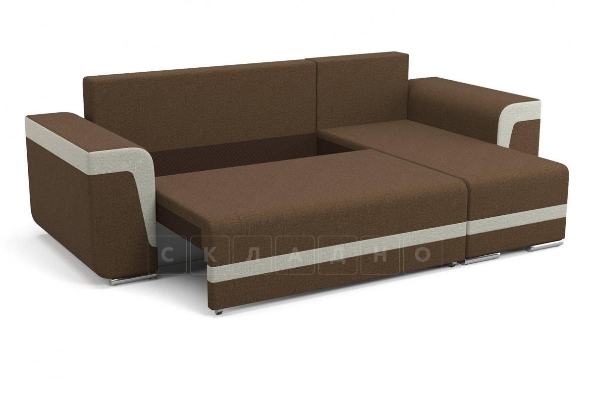 Угловой диван Марракеш коричневый фото 3 | интернет-магазин Складно