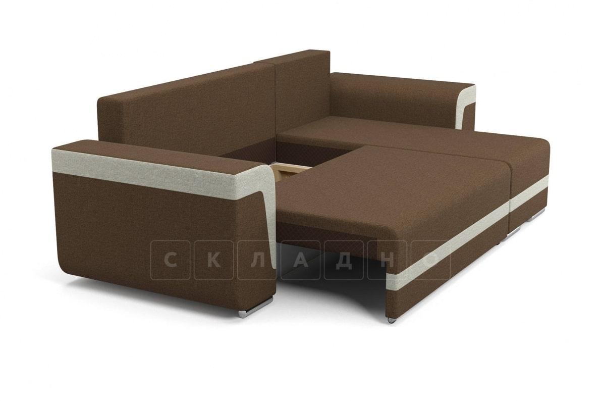 Угловой диван Марракеш коричневый фото 4 | интернет-магазин Складно