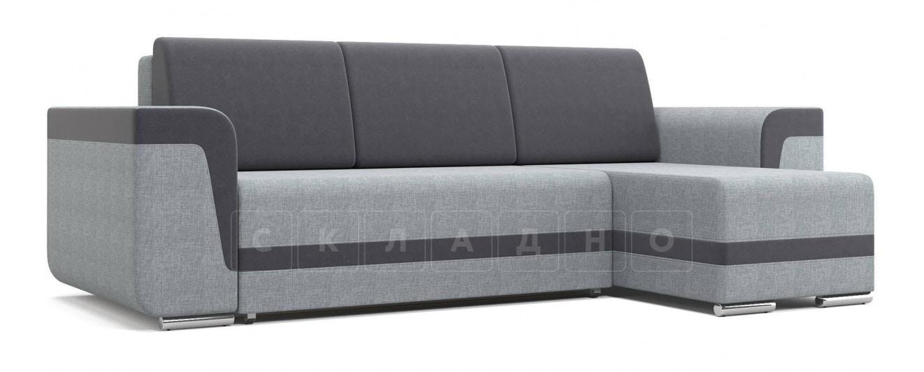 Угловой диван Марракеш серый фото 1 | интернет-магазин Складно