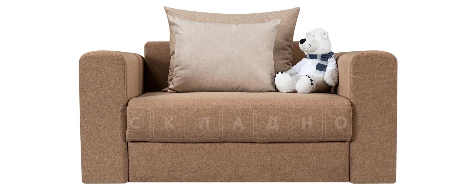 Кресло Медисон 100см коричневого цвета фото 2 | интернет-магазин Складно