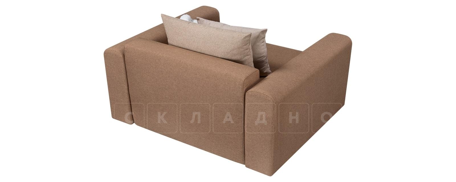 Кресло Медисон 100см коричневого цвета фото 3 | интернет-магазин Складно