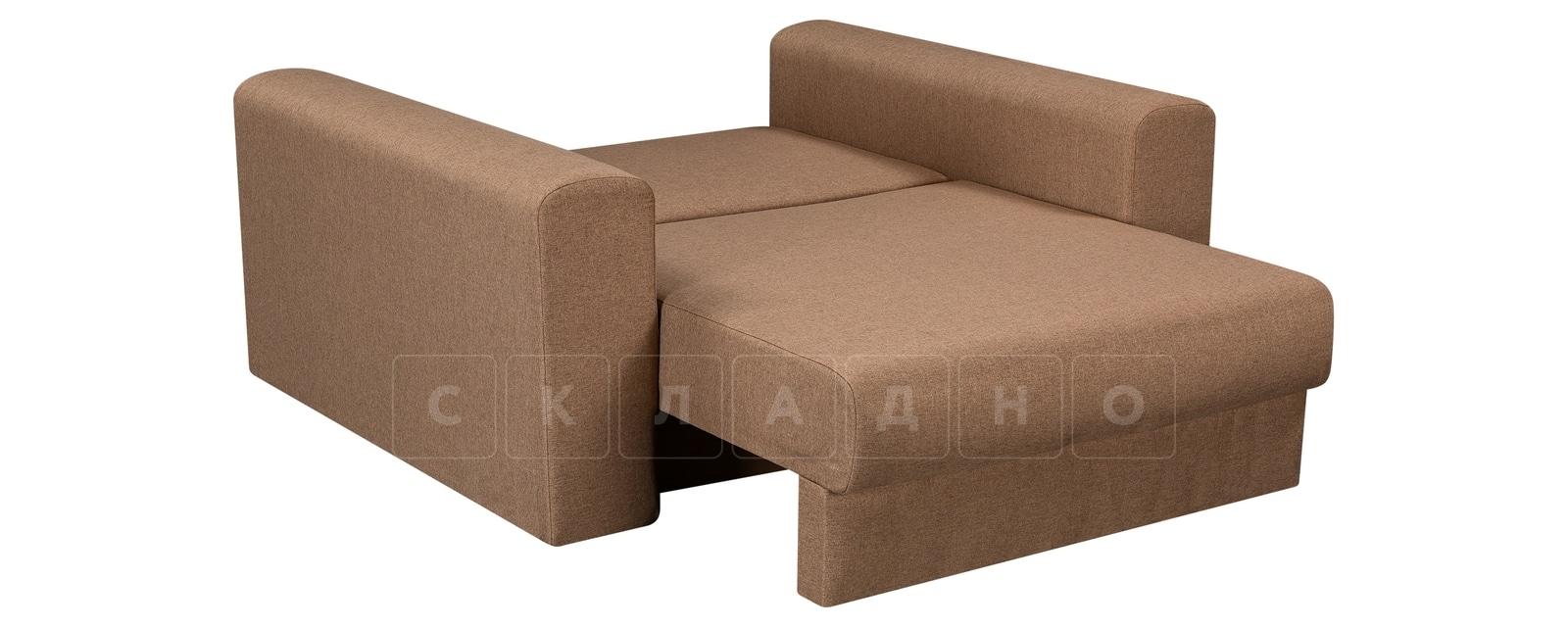 Кресло Медисон 100см коричневого цвета фото 4 | интернет-магазин Складно