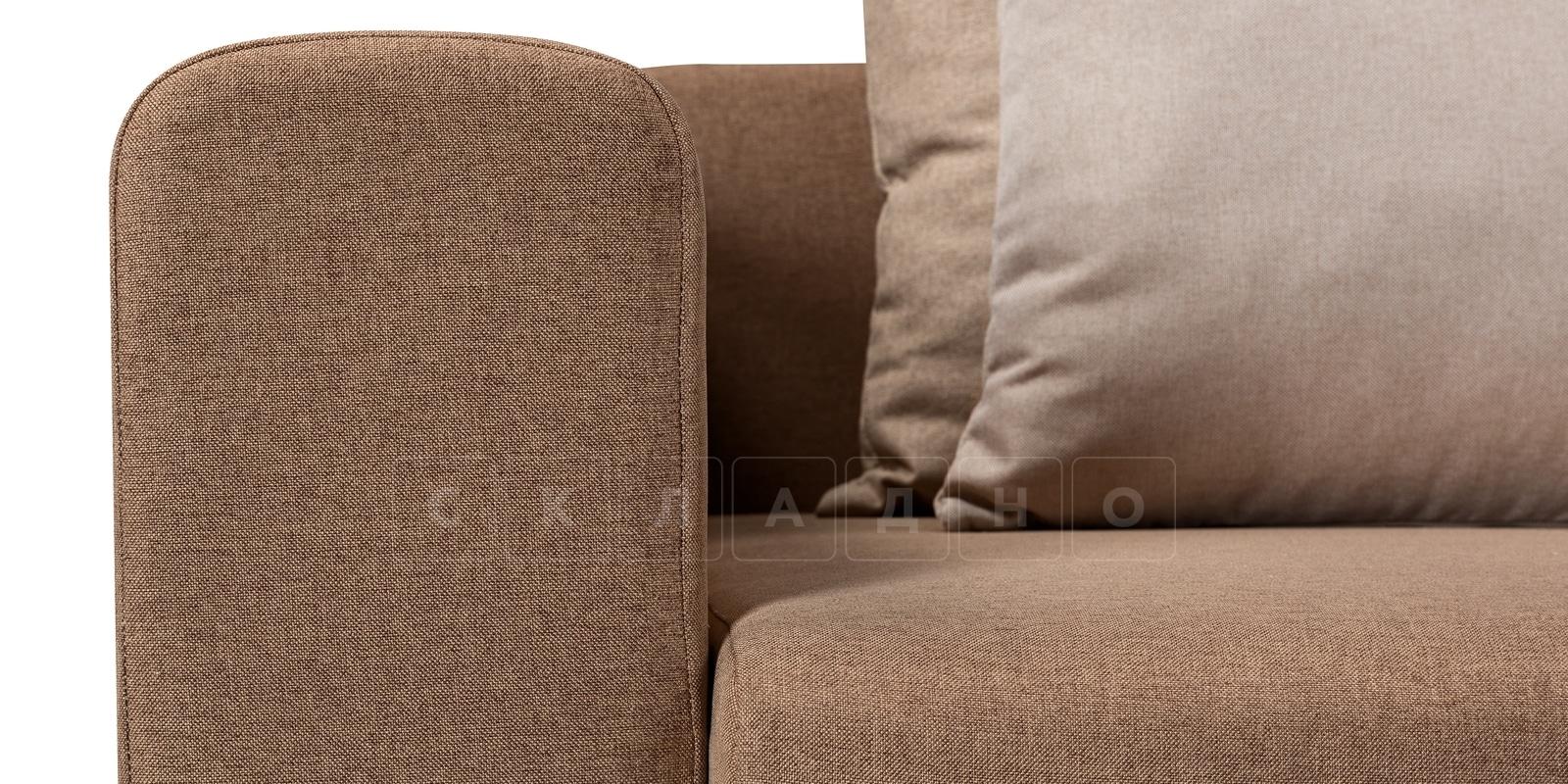 Кресло Медисон 100см коричневого цвета фото 5 | интернет-магазин Складно