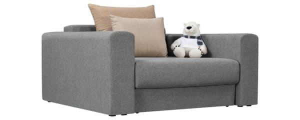 Кресло Медисон 100 см серого цвета фото | интернет-магазин Складно