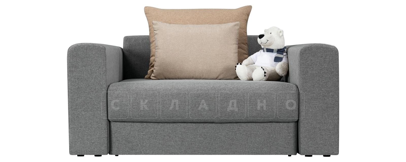 Кресло Медисон 100 см серого цвета фото 2 | интернет-магазин Складно