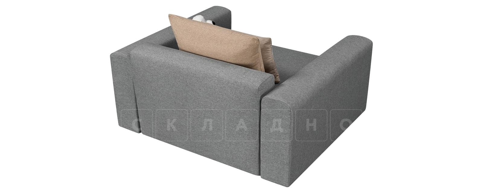 Кресло Медисон 100 см серого цвета фото 4 | интернет-магазин Складно