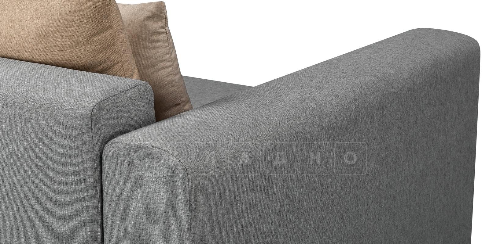 Кресло Медисон 100 см серого цвета фото 5 | интернет-магазин Складно