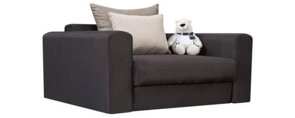 Кресло Медисон 100 см темно-серого цвета фото | интернет-магазин Складно