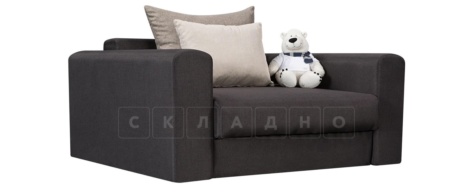 Кресло Медисон 100 см темно-серого цвета фото 1 | интернет-магазин Складно