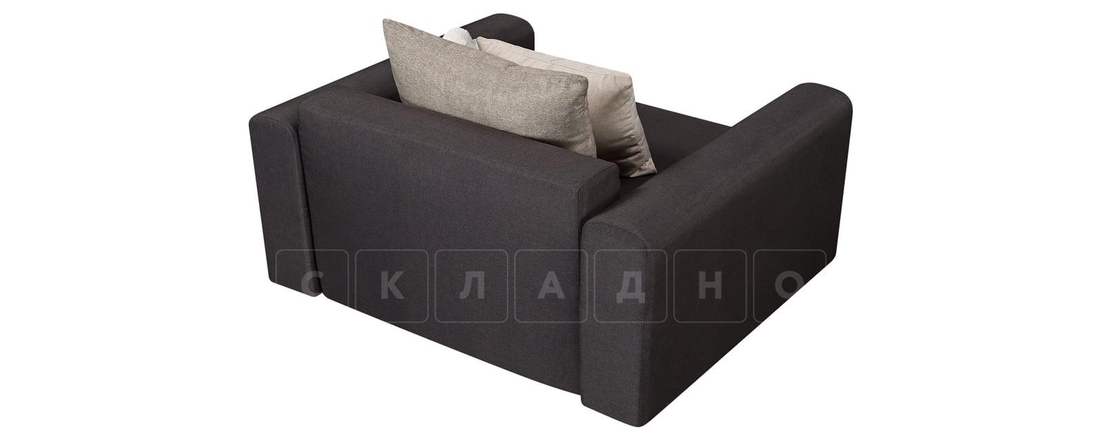 Кресло Медисон 100 см темно-серого цвета фото 3 | интернет-магазин Складно