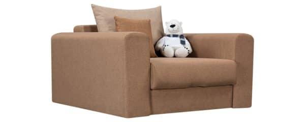 Кресло Медисон 80 см коричневого цвета фото | интернет-магазин Складно