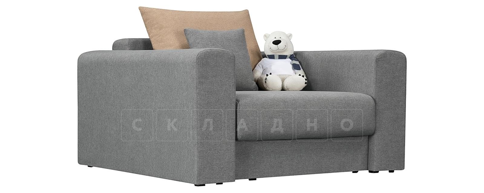 Кресло Медисон 80 см серого цвета фото 1 | интернет-магазин Складно