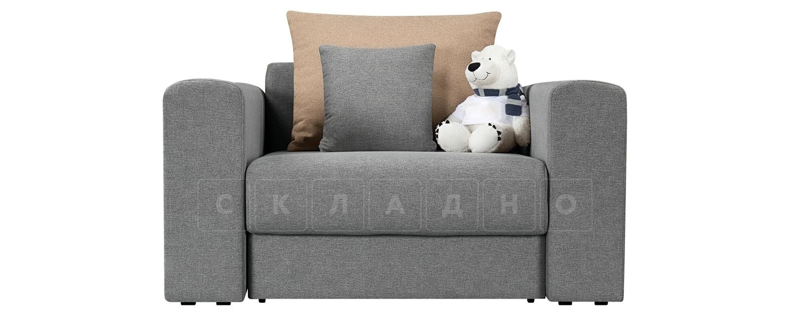 Кресло Медисон 80 см серого цвета фото 3 | интернет-магазин Складно