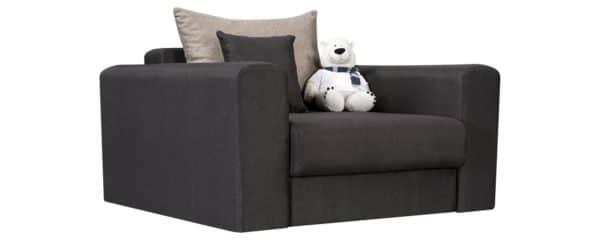 Кресло Медисон 80 см темно-серого цвета фото | интернет-магазин Складно
