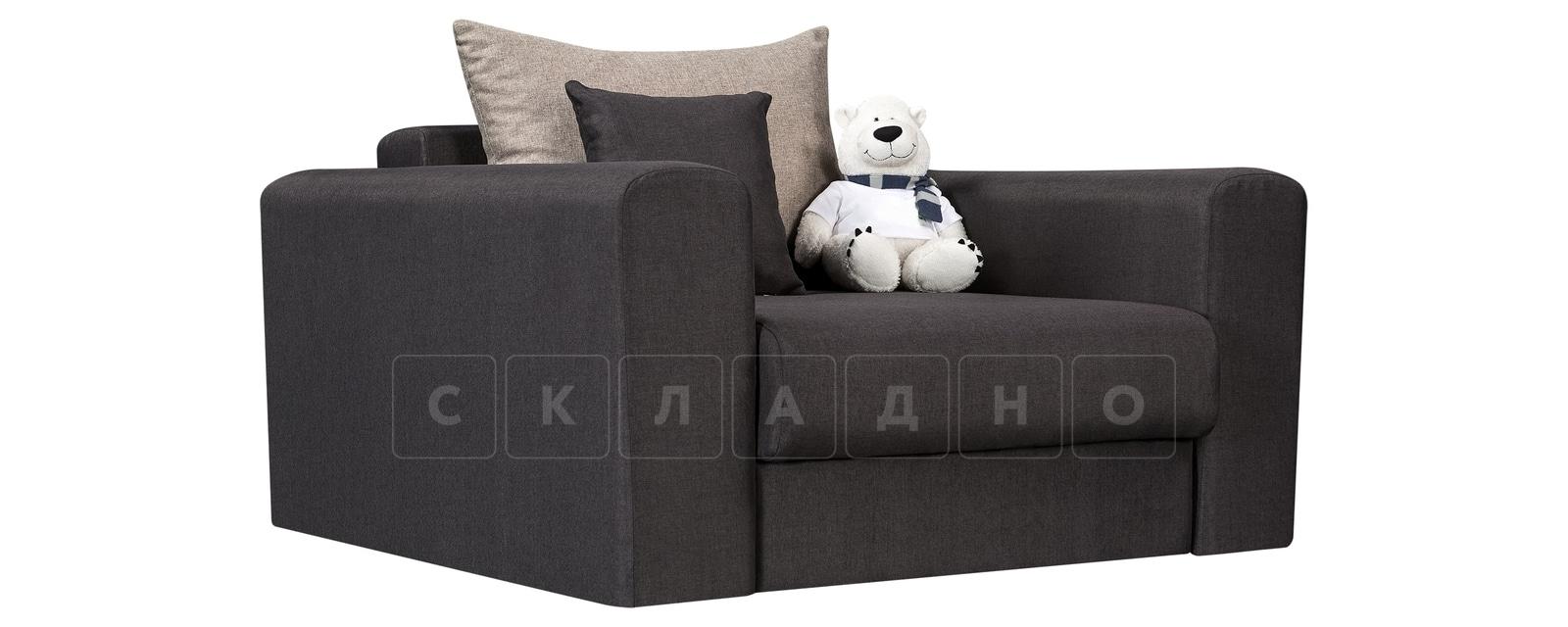 Кресло Медисон 80см темно-серого цвета фото 1 | интернет-магазин Складно