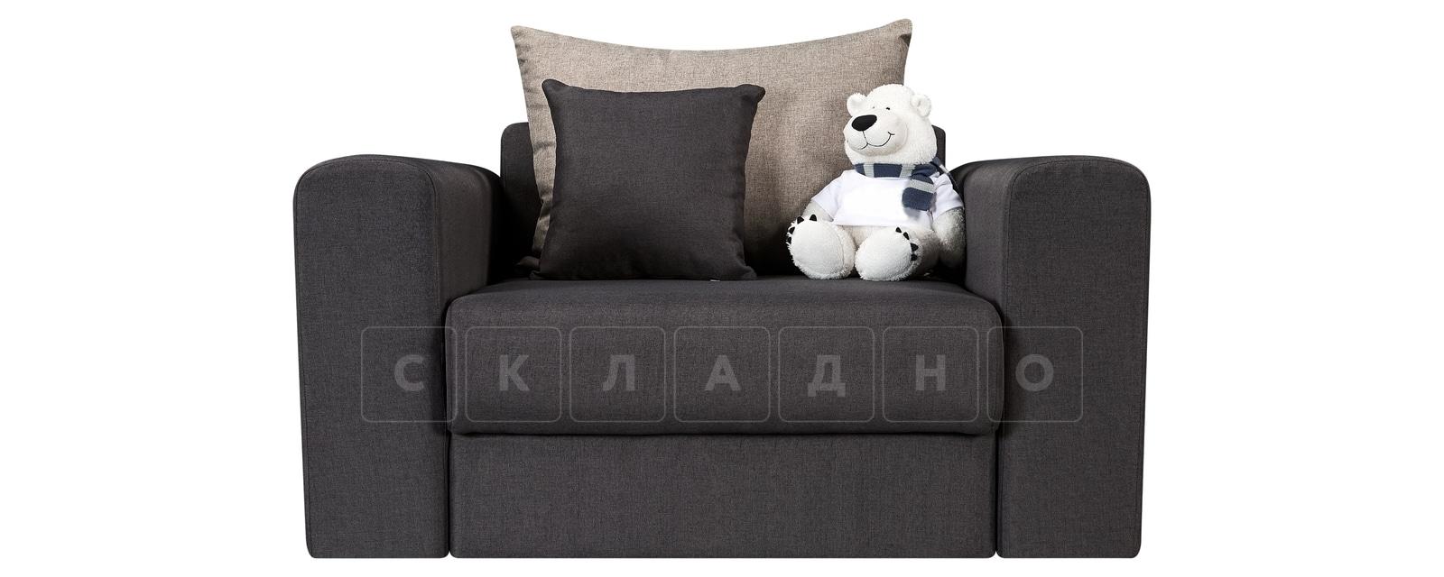 Кресло Медисон 80см темно-серого цвета фото 2 | интернет-магазин Складно