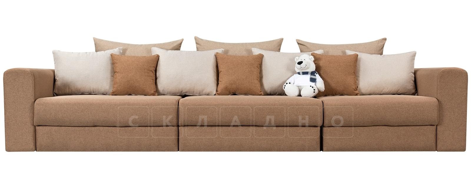 Диван Медисон коричневый 325 см фото 2 | интернет-магазин Складно