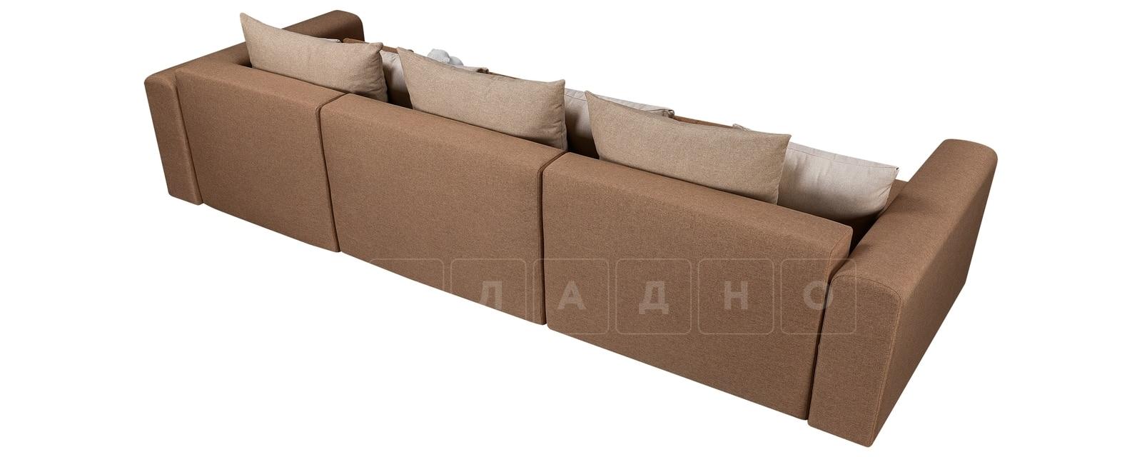 Диван Медисон коричневый 325 см фото 3 | интернет-магазин Складно