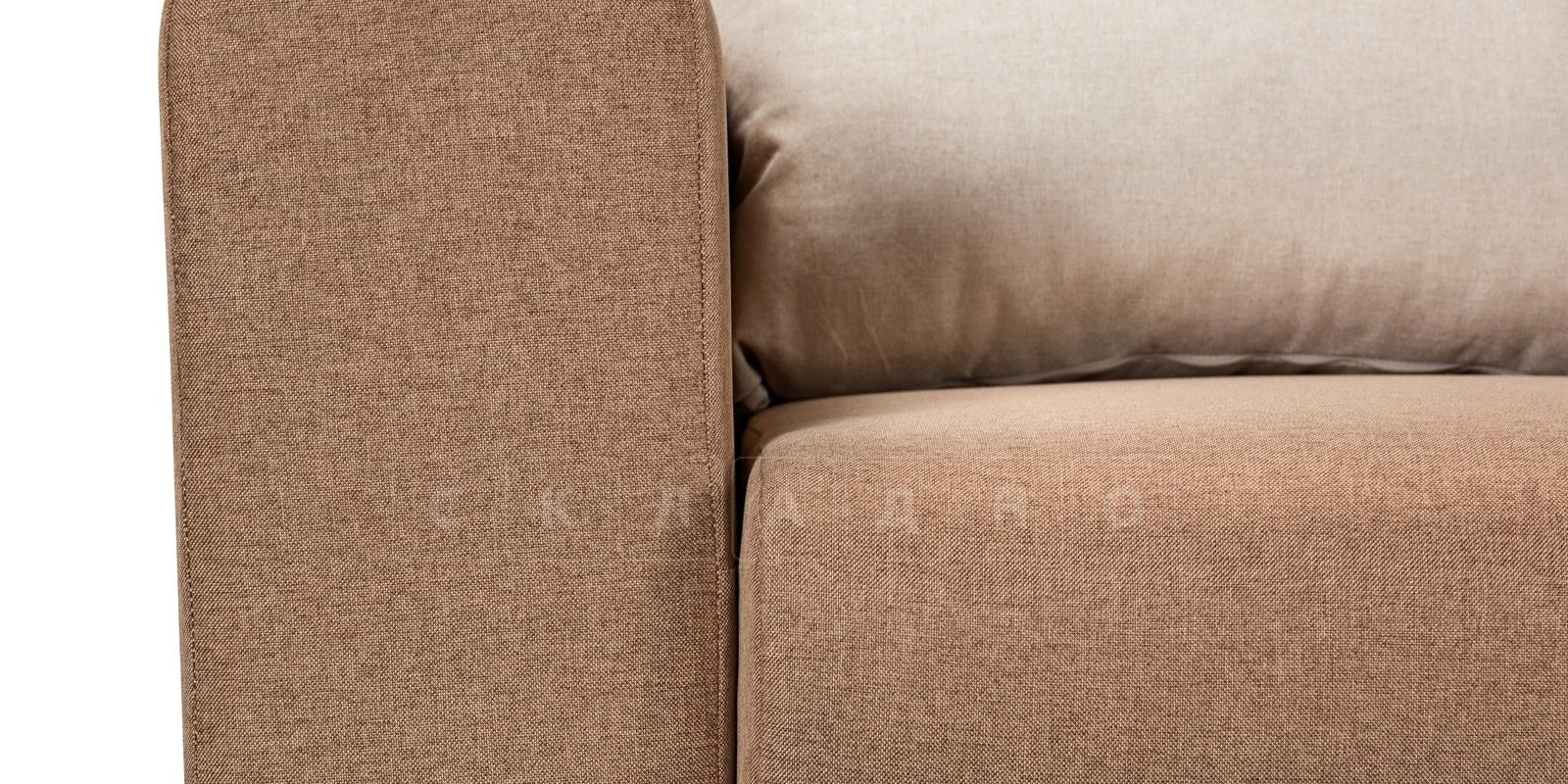 Диван Медисон коричневый 325 см фото 6 | интернет-магазин Складно
