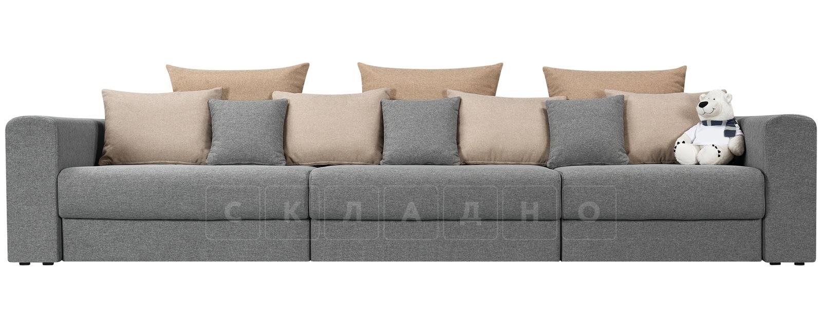 Диван Медисон серый 325 см фото 2 | интернет-магазин Складно