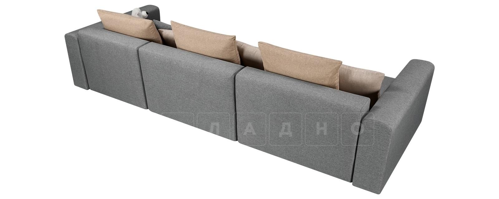 Диван Медисон серый 325 см фото 3 | интернет-магазин Складно