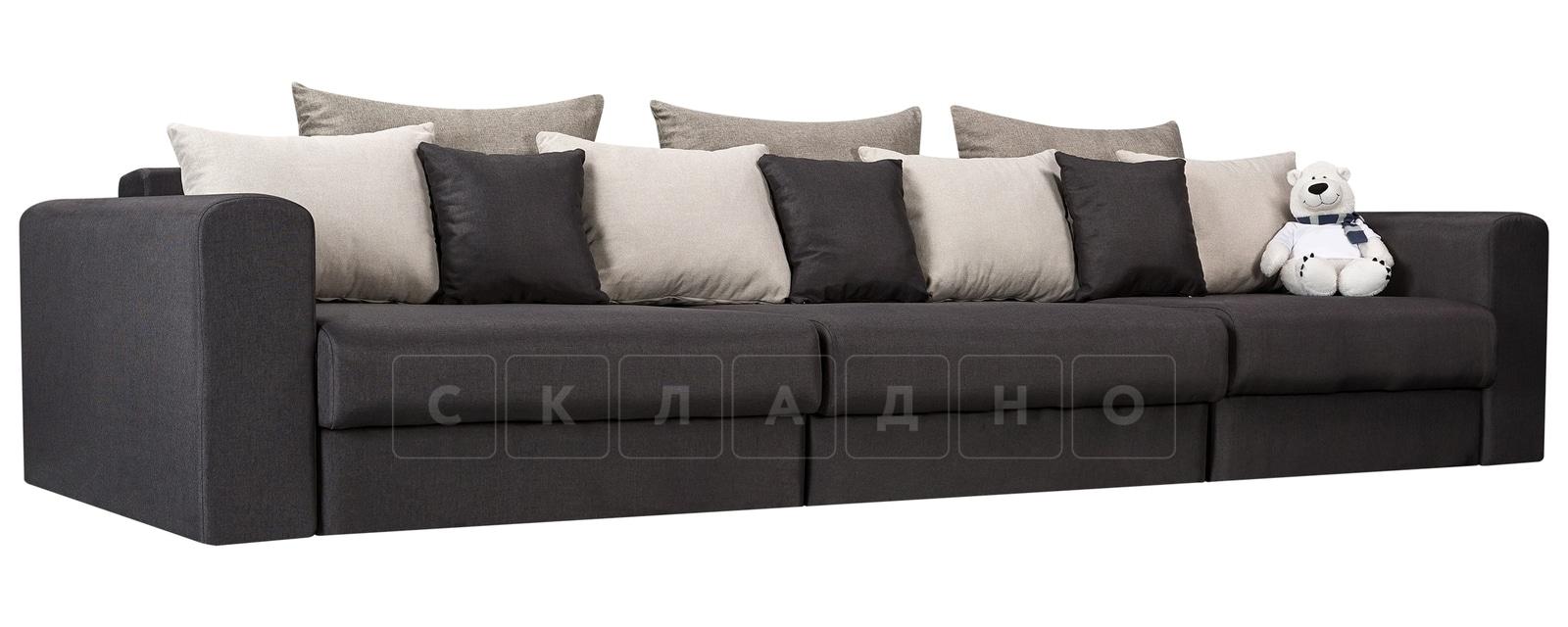 Диван Медисон темно-серый 325 см фото 1 | интернет-магазин Складно