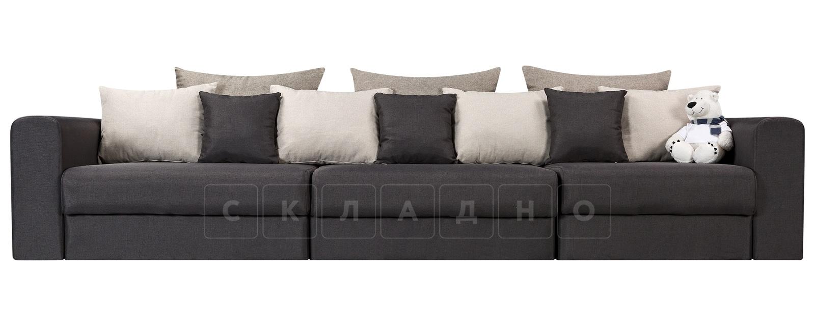 Диван Медисон темно-серый 325 см фото 2 | интернет-магазин Складно