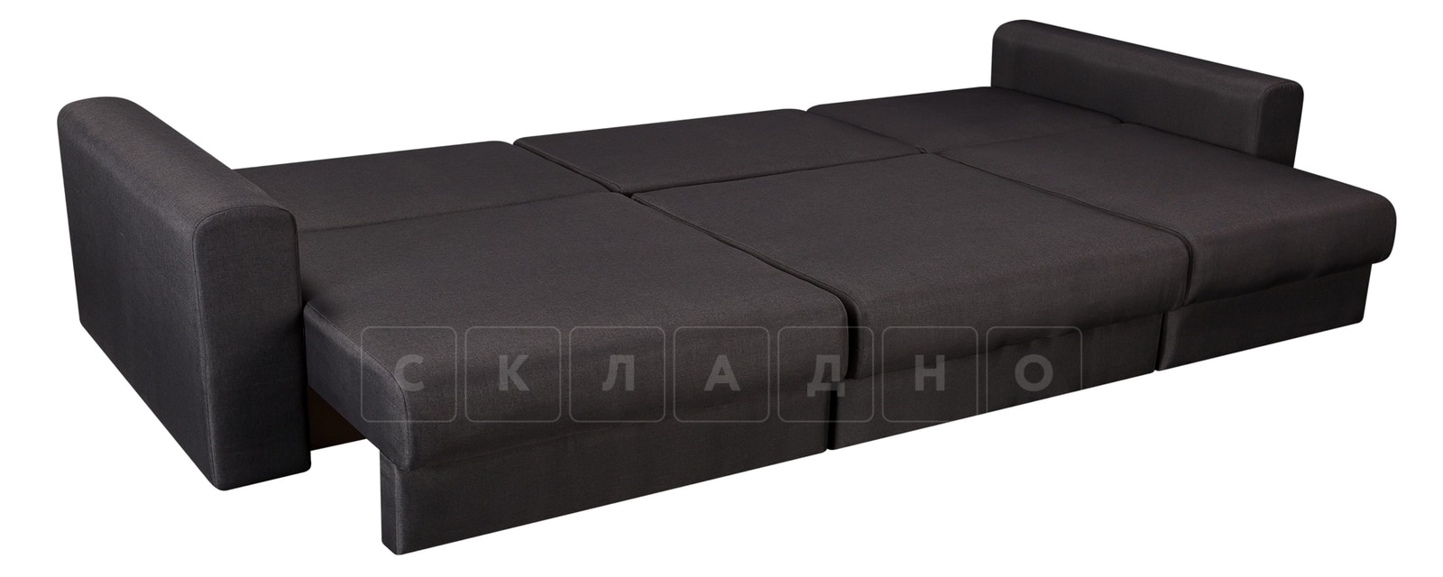 Диван Медисон темно-серый 325 см фото 4 | интернет-магазин Складно