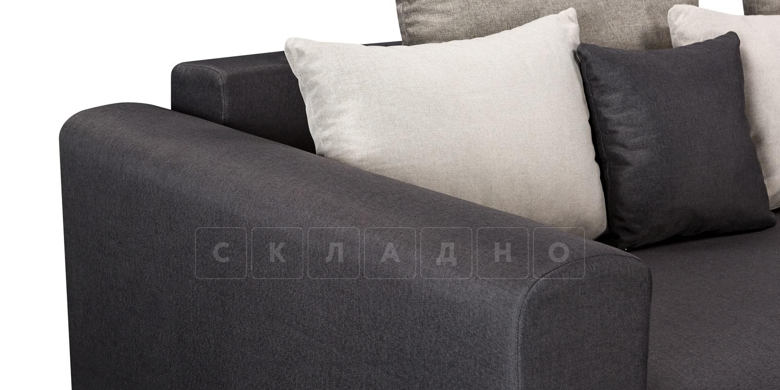 Диван Медисон темно-серый 325 см фото 5 | интернет-магазин Складно