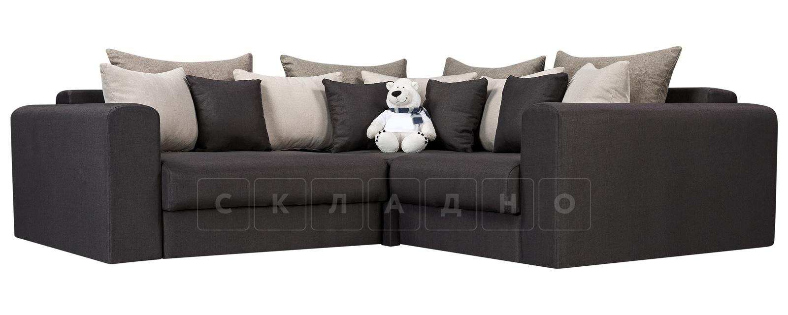 Угловой диван Медисон темно-серый 244х224 см фото 1 | интернет-магазин Складно