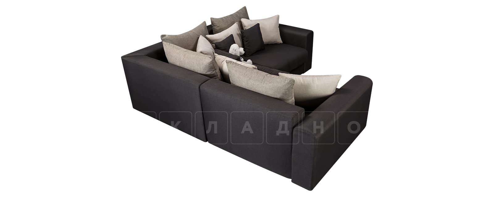 Угловой диван Медисон темно-серый 244х224 см фото 3 | интернет-магазин Складно
