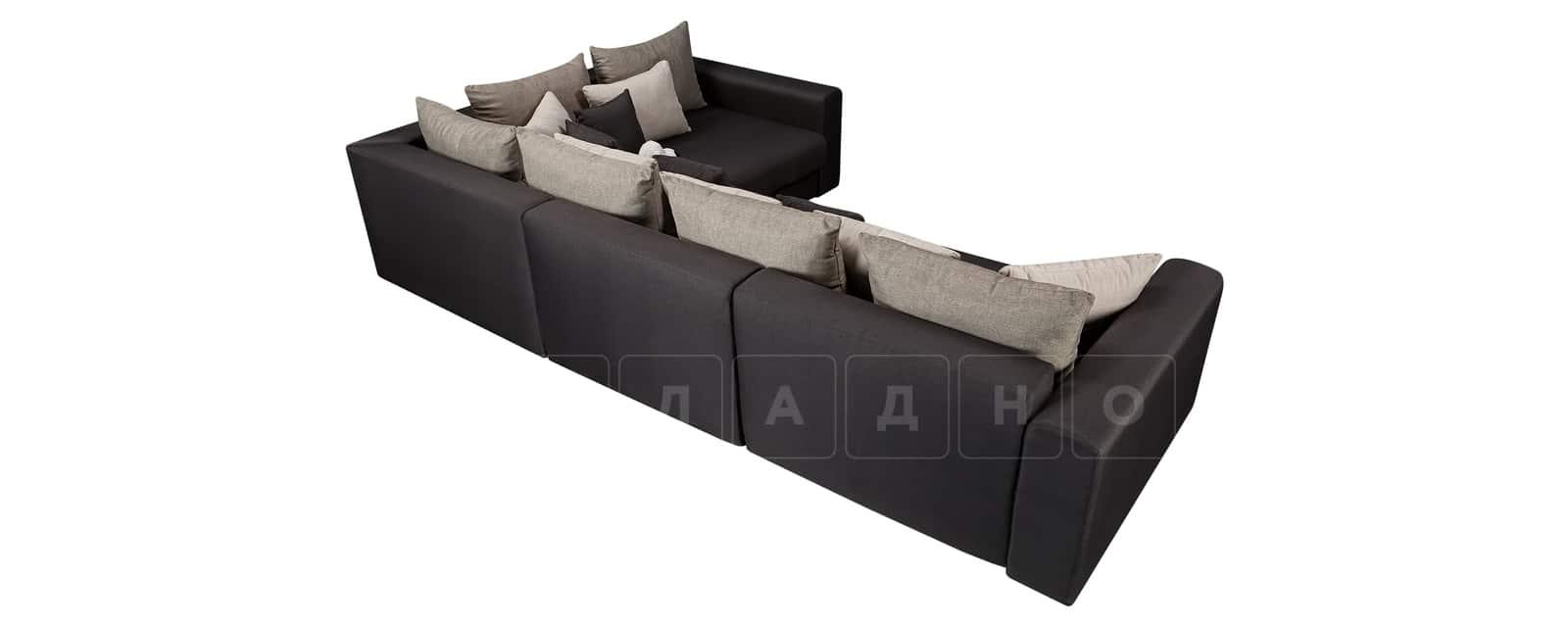Угловой диван Медисон темно-серый 345х224см фото 3 | интернет-магазин Складно