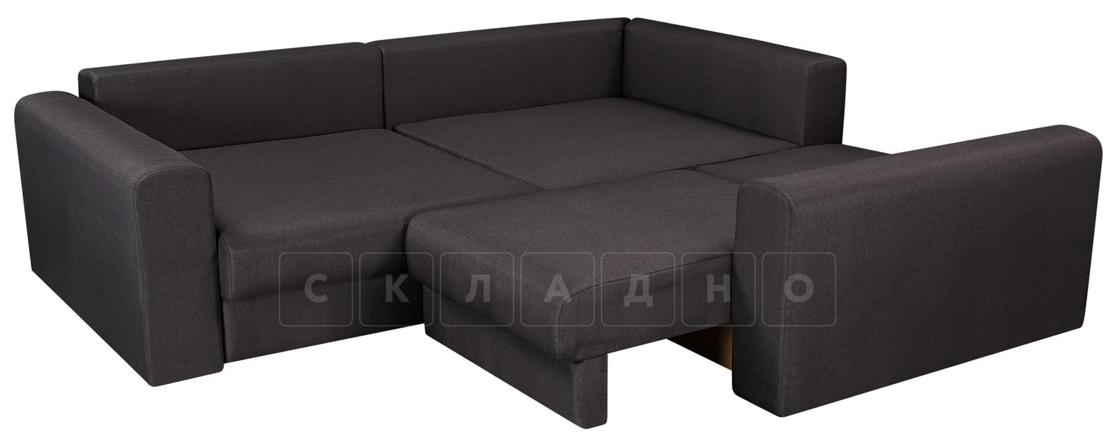 Угловой диван Медисон темно-серый 244х224 см фото 4 | интернет-магазин Складно