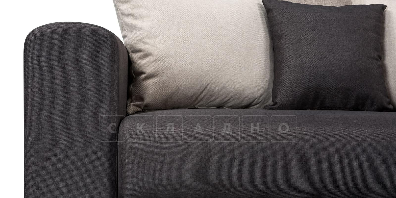 Угловой диван Медисон темно-серый 244х224 см фото 6 | интернет-магазин Складно