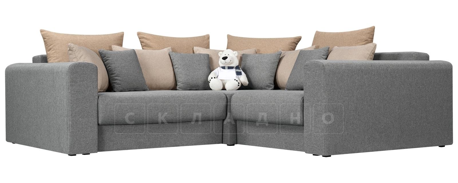 Угловой диван Медисон серый 244х224 см фото 1 | интернет-магазин Складно