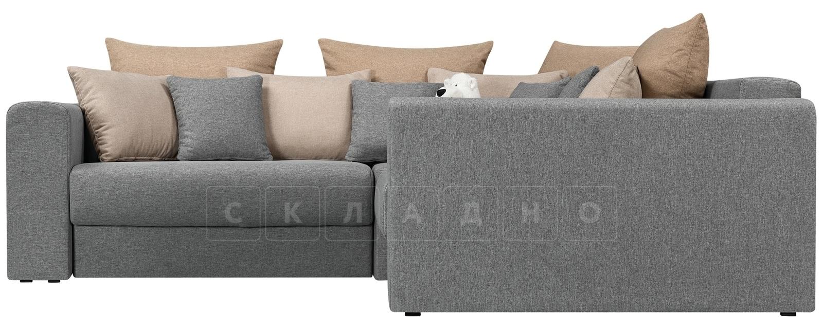 Угловой диван Медисон серый 244х224 см фото 2 | интернет-магазин Складно