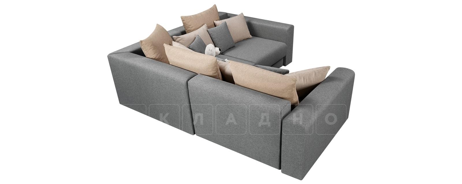 Угловой диван Медисон серый 244х224 см фото 3 | интернет-магазин Складно