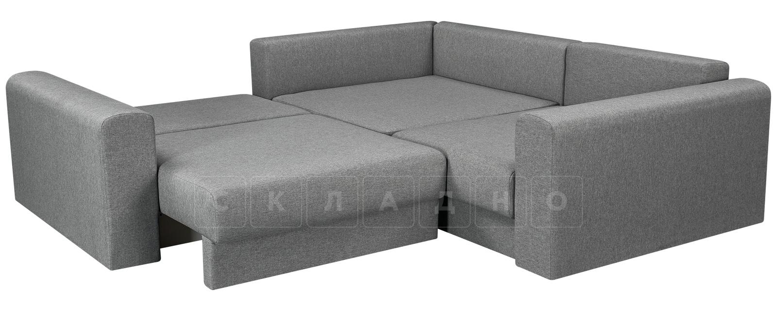Угловой диван Медисон серый 244х224 см фото 4 | интернет-магазин Складно