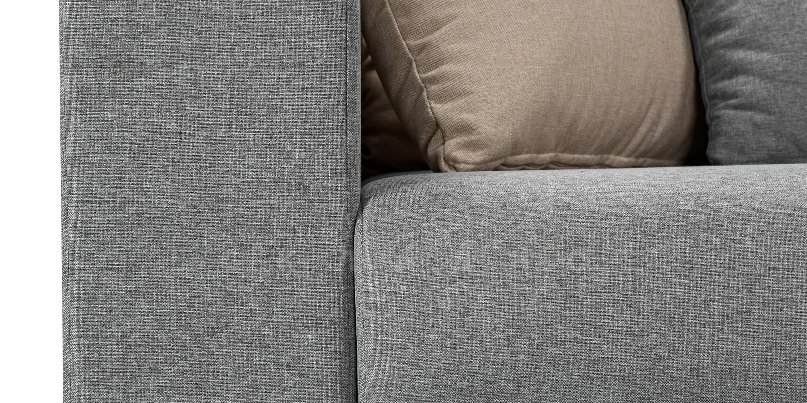 Угловой диван Медисон серый 345х224 см фото 5 | интернет-магазин Складно