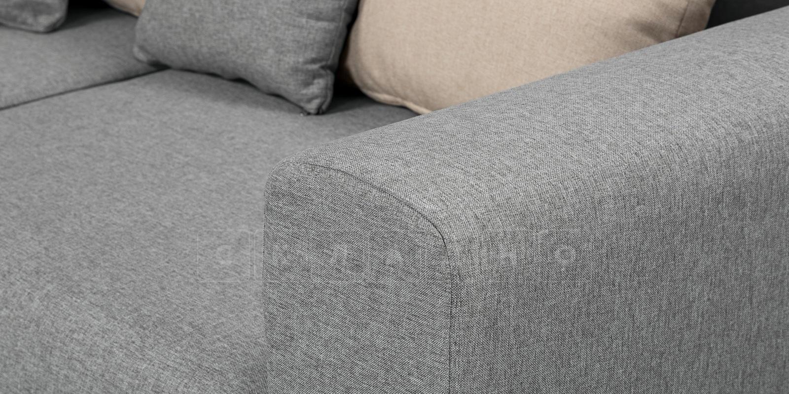 Кресло Медисон 100 см серого цвета фото 7 | интернет-магазин Складно