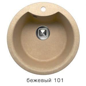 Кухонная мойка TOLERO R-108Е кварцевая D51 с выступом  5900  рублей, фото 1   интернет-магазин Складно